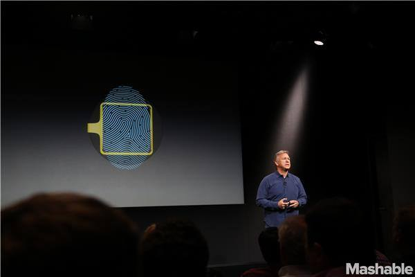 // The Home Button of the new iPhone is a Biometric Sensor. //