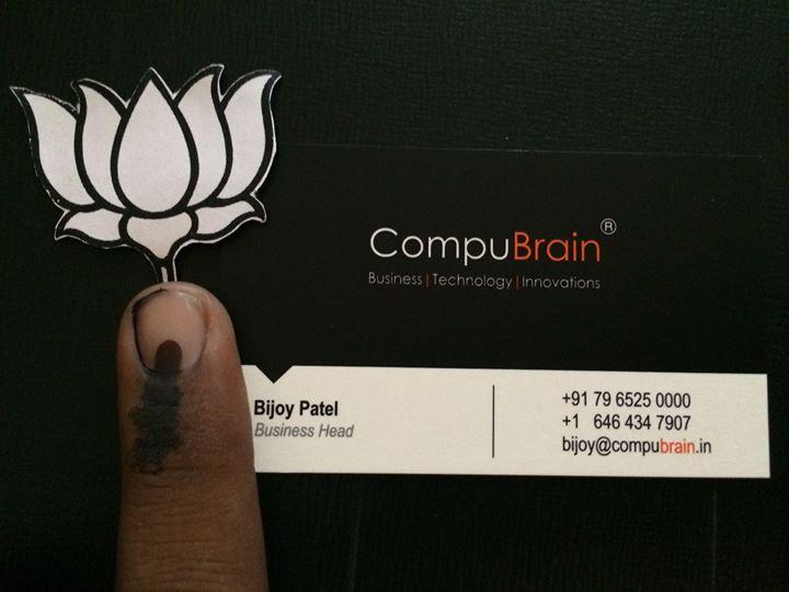 Bijoy Patel,  selfiewithmodi, Elections2014, Branding