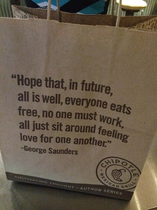 My version from this Chipotle Carry Bag.
