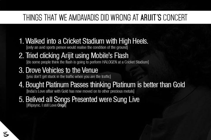 :: મજા પડી :: #ArijitSingh #Ahmedabad