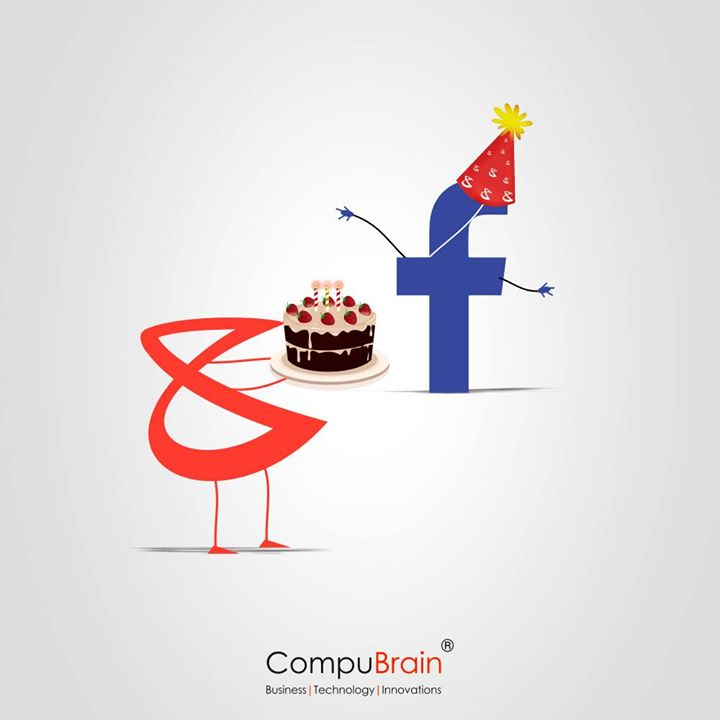 In 12 Years, Facebook probably knows more than what your Family, Neighbours, Friends and even your Spouse Know about You. #Birthday #Facebook #CompuBrain