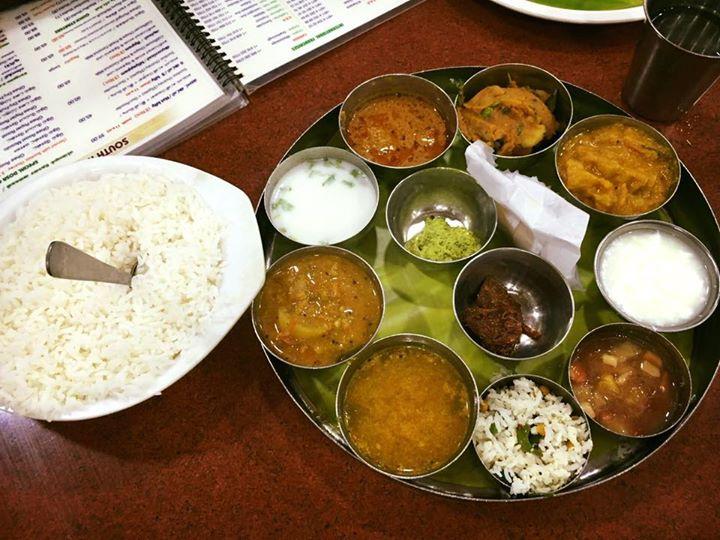 RSVP: Rasam, Sambar, Vada, & Poriyal Lunch Time...