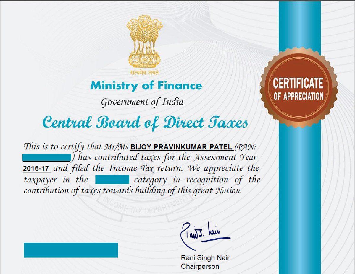 Bijoy Patel,  incometax
