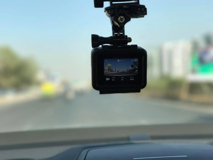 Dear Ahmedabad,   Smile :) You're on Camera!  With my average daily commute of 150 kms, I think its time to digitise the mood of the traffic and roads of Ahmedabad.  Looking forward to share some interesting snippets of Ahmedabad Roads.   #Hero5 #Ahmedabad #AhmedbadRoads #AhmedabadDiaries