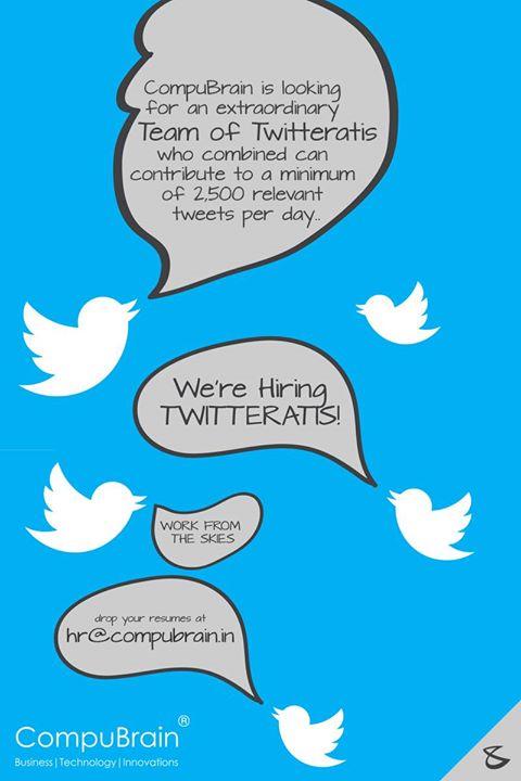 Bijoy Patel,  TwitterJobs, SocialMediaJobs, Twitter, WorkFromHome, PartTimeJob