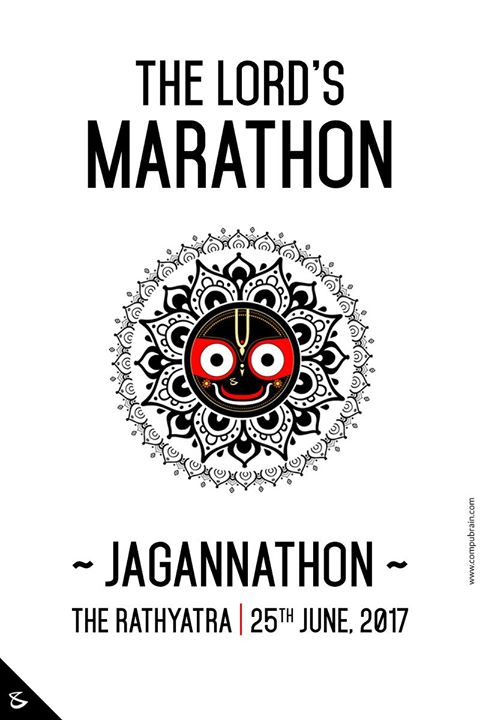 // Come join the #Jagannathon // The Lord's only #Marathon // #Ahmedabad #RathYatra2017