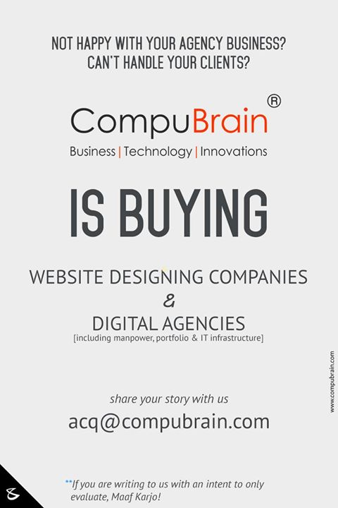 :: Expansion Drive ::  #GrowthHacking #CompuBrain #BusinessAcquisition