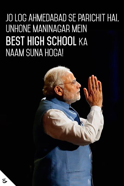 :: Proud to be actively associated with everything that was said here; #Ahmedabad #Maninagar #BestHighSchool #NarendraModi :: https://goo.gl/Z9QhNZ