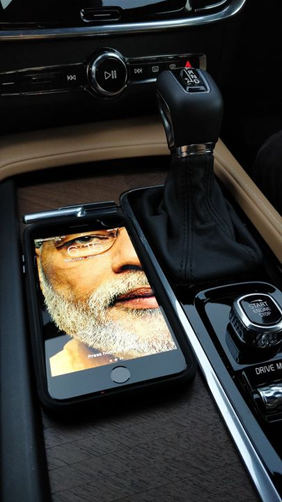 Bijoy Patel,  NarendraModi, Motivation, Wallpaper, VolvoS90