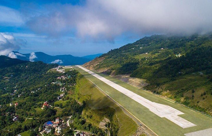 I've been an ardent lover of airstrips; this one is enticing like no other! Cant wait to land here! #PakyongAirport #Sikkim PC: Internet