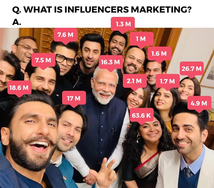 Influencer's Influencers Marketing.  #SocialMedia #DigitalMarketing