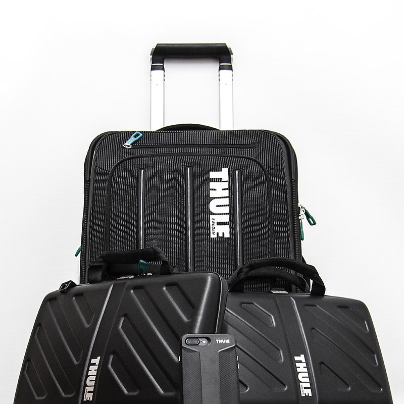 My @thule Collection. #brandloyalty #thule #travelaccessories  PC: @dip_memento_photography