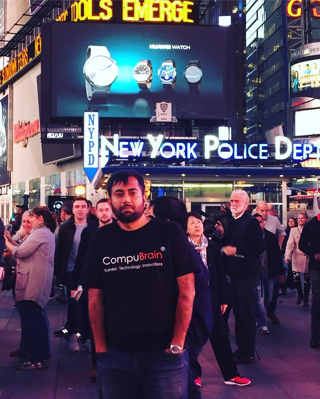 Bijoy Patel,  TimesSquare, beinggujarati, gujju, throwbacktrips, nyc