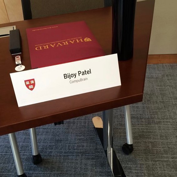 Bijoy Patel,  Harvard