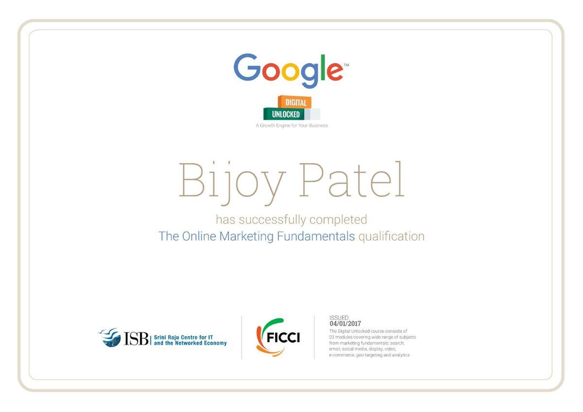 Bijoy Patel,  DigitalUnlocked