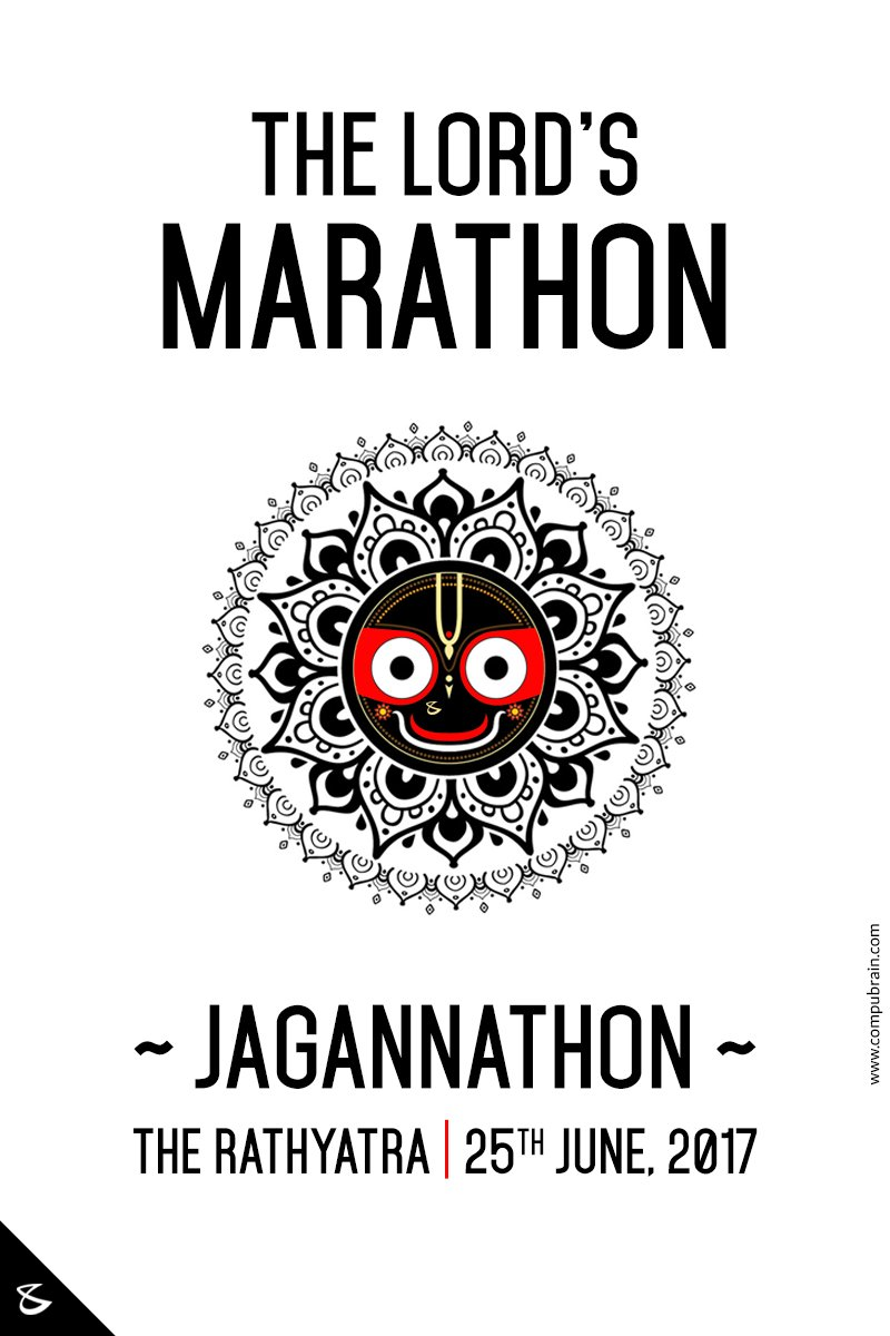 // Come join the #Jagannathon // The Lord's only #Marathon // #Ahmedabad #RathYatra2017 https://t.co/JZYMNp7AxT