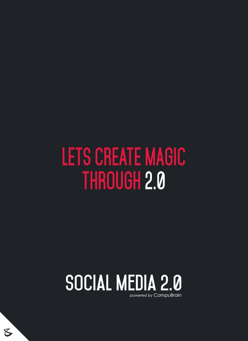 Ready to create some magic? Let Socialmedia2point0 help you create that magic. #contentstrategy #DigitalMarketing #SMCamp #facebookmarketing https://t.co/NLFC1NEtZK