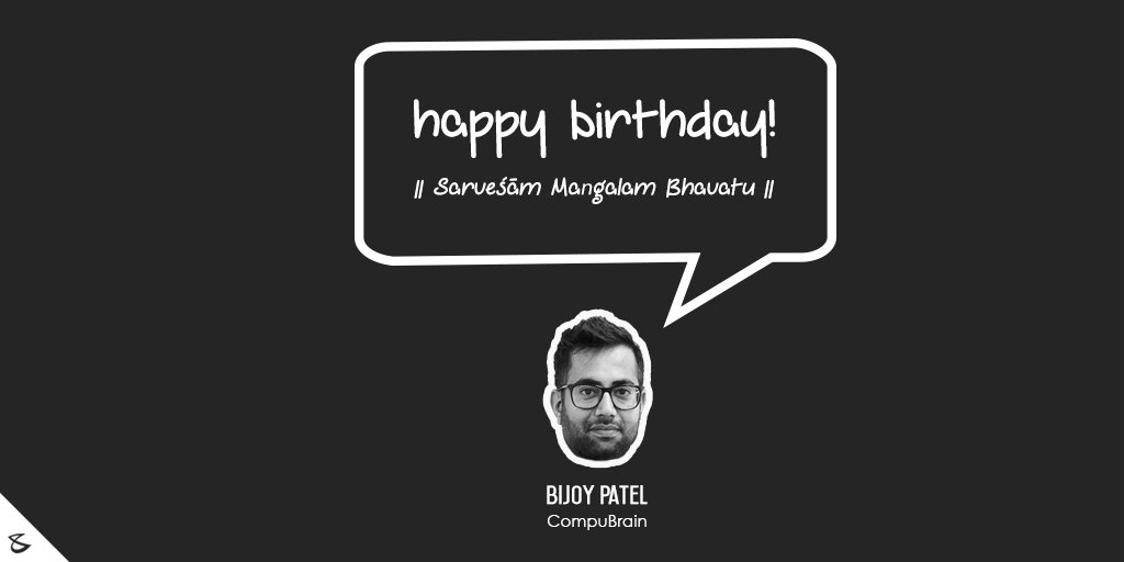 Bijoy Patel,  BirthdayWishes