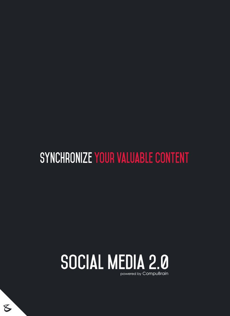 Time to synchronize you valuable content. Enroll for @SM2p0. #contentstrategy #SocialMediaStrategy #DigitalStrategy #SocialMediaTools https://t.co/JzL09Wo2RY