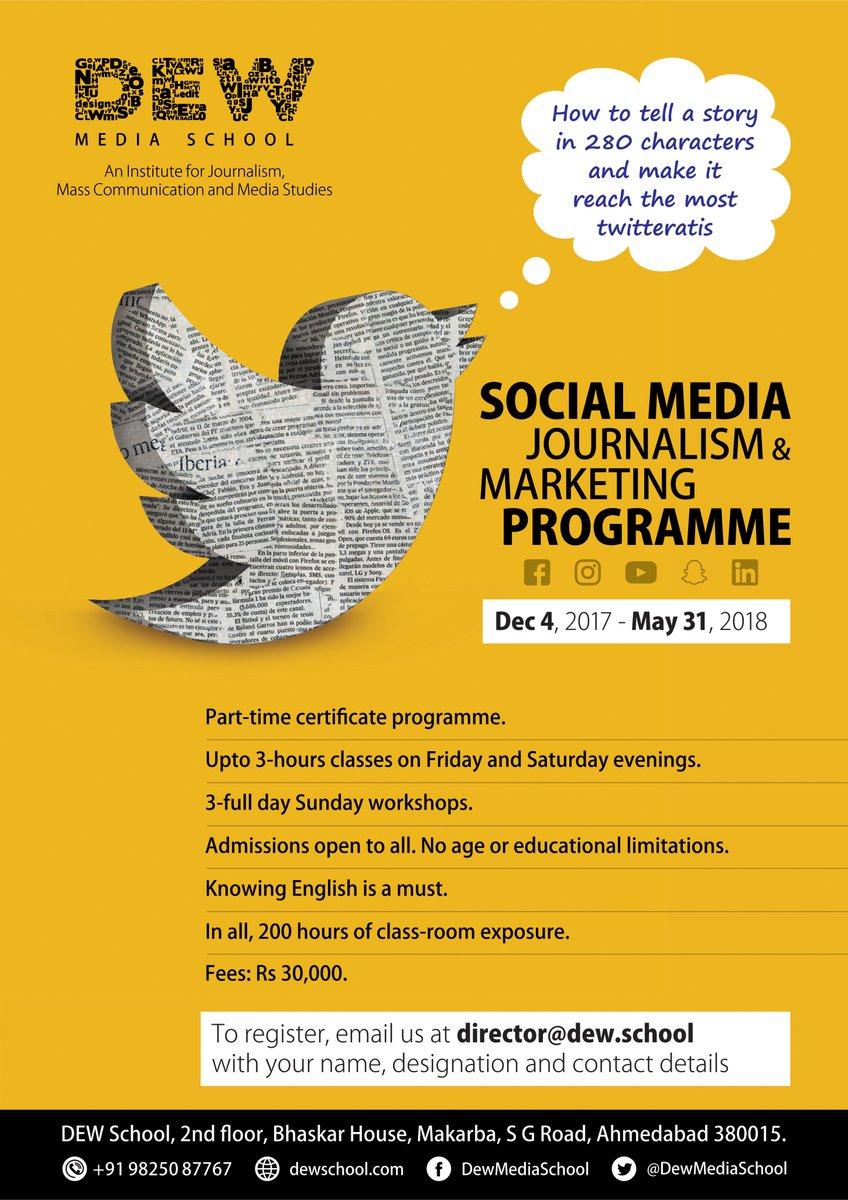 Bijoy Patel,  SocialMediaJournalism, EnrolNow