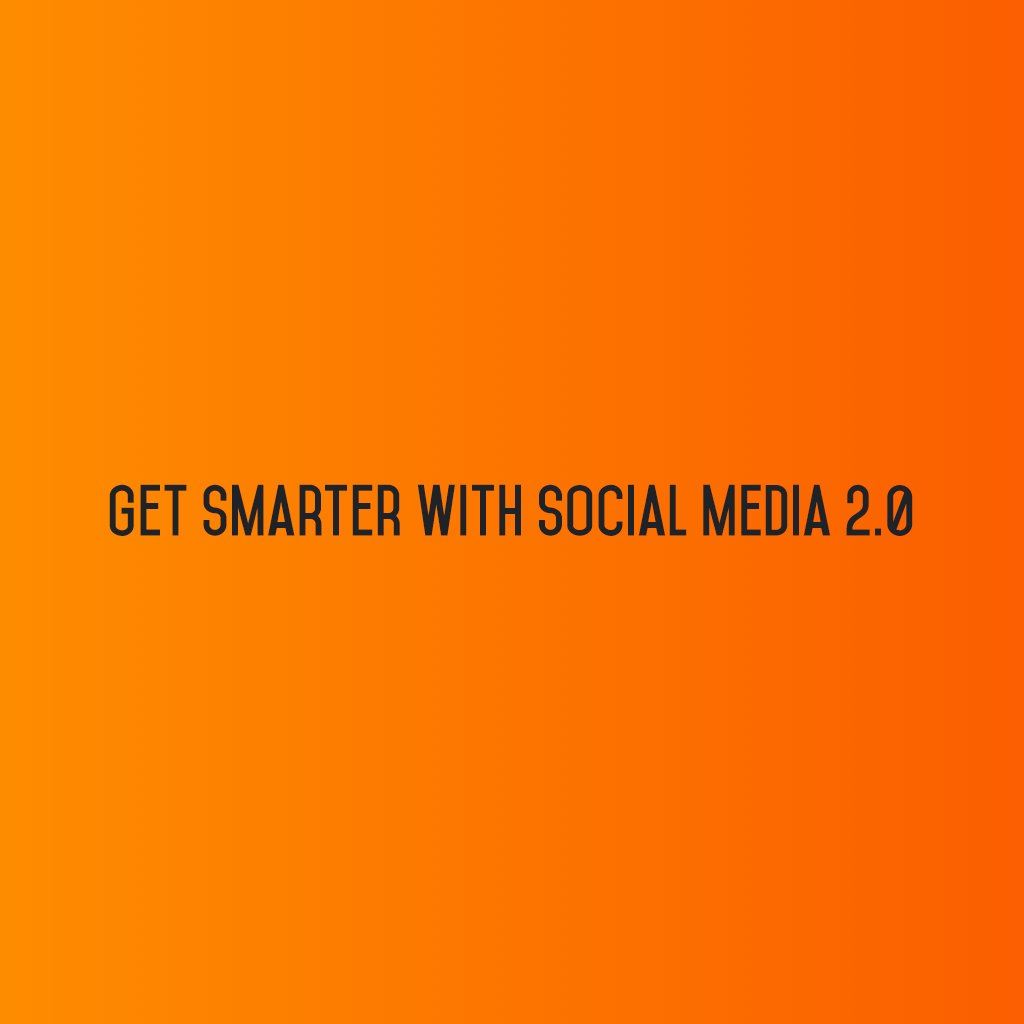 :: Get smarter with Social Media 2.0 :: #sm2p0 #contentstrategy #SocialMediaStrategy #DigitalStrategy #SocialMediaTools #SocialMediaTips https://t.co/oF90BXGa69