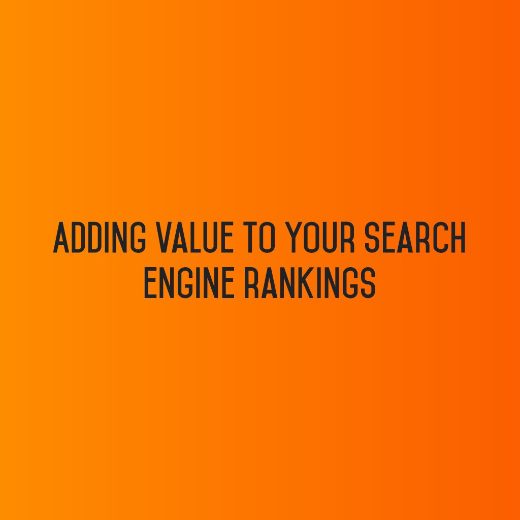:: Adding value to your Search engine rankings ::  #sm2p0 #contentstrategy #SocialMediaStrategy #DigitalStrategy #SocialMediaTools https://t.co/yTbneSS7mK