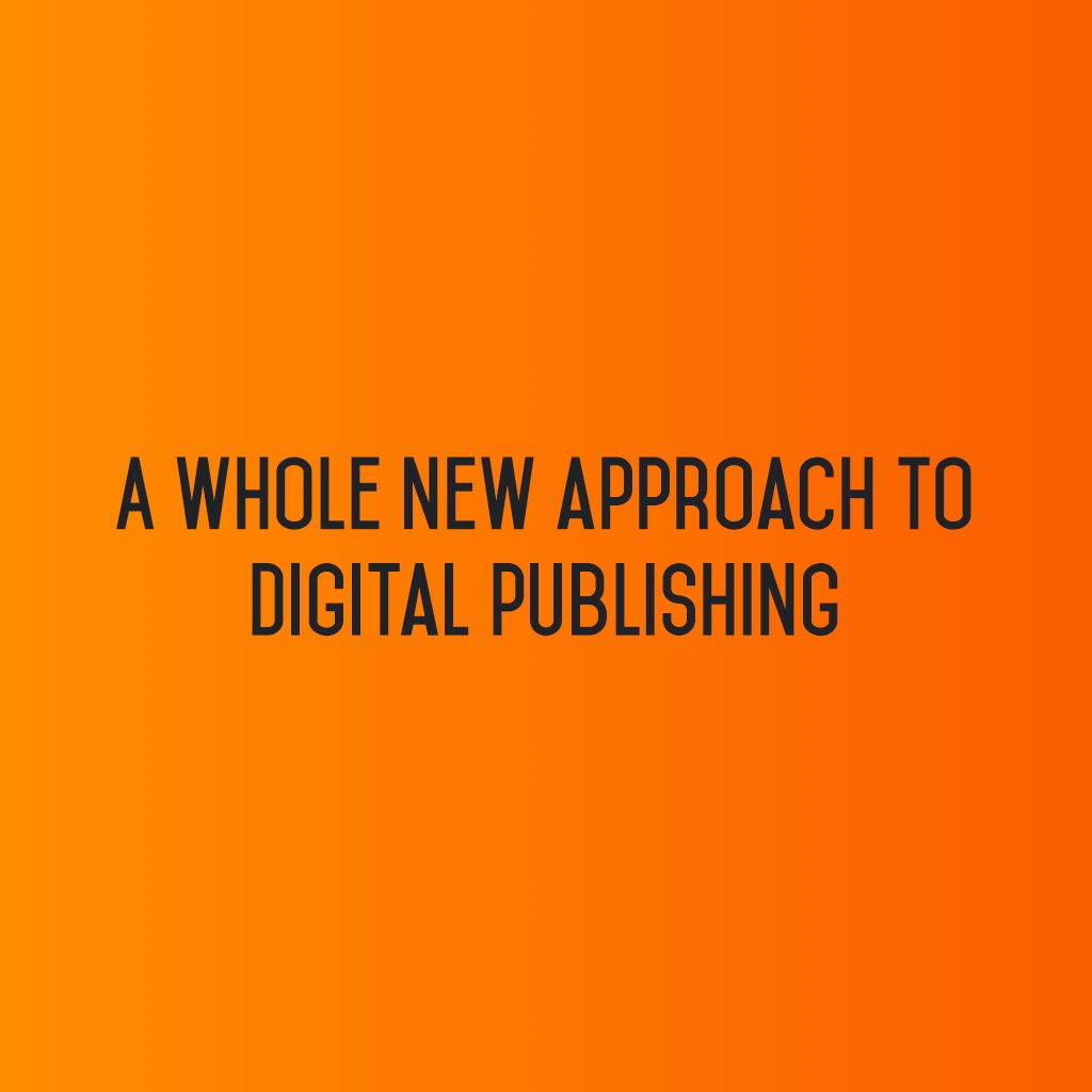 :: A whole new approach to digital publishing :: #sm2p0 #contentstrategy #SocialMediaStrategy #DigitalStrategy #SocialMediaTools https://t.co/Um2pjywdaS