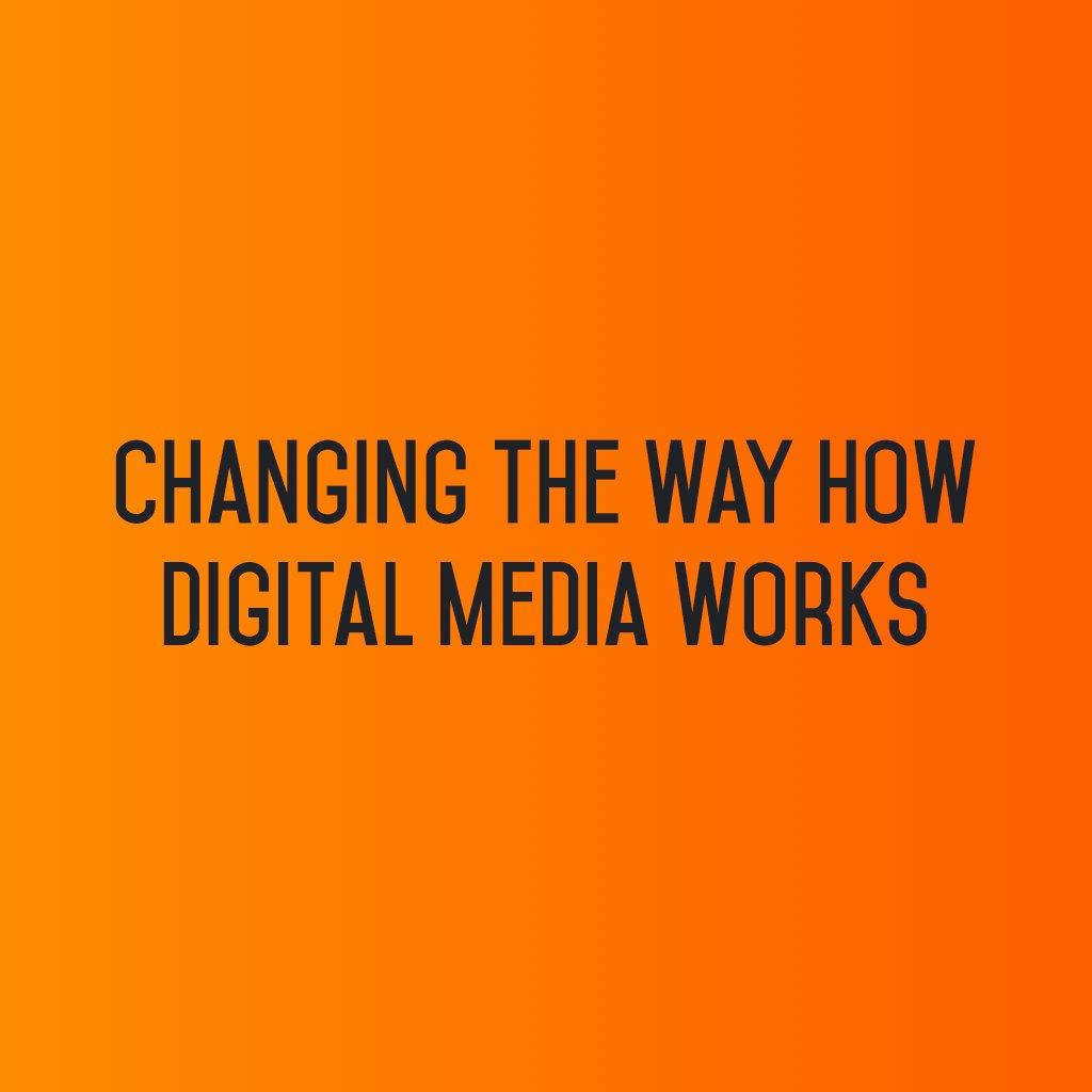 :: Changing the way how #Digitalmedia works ::  #sm2p0 #contentstrategy #SocialMediaStrategy #DigitalStrategy #SocialMediaTools https://t.co/kgSRuuEqNk