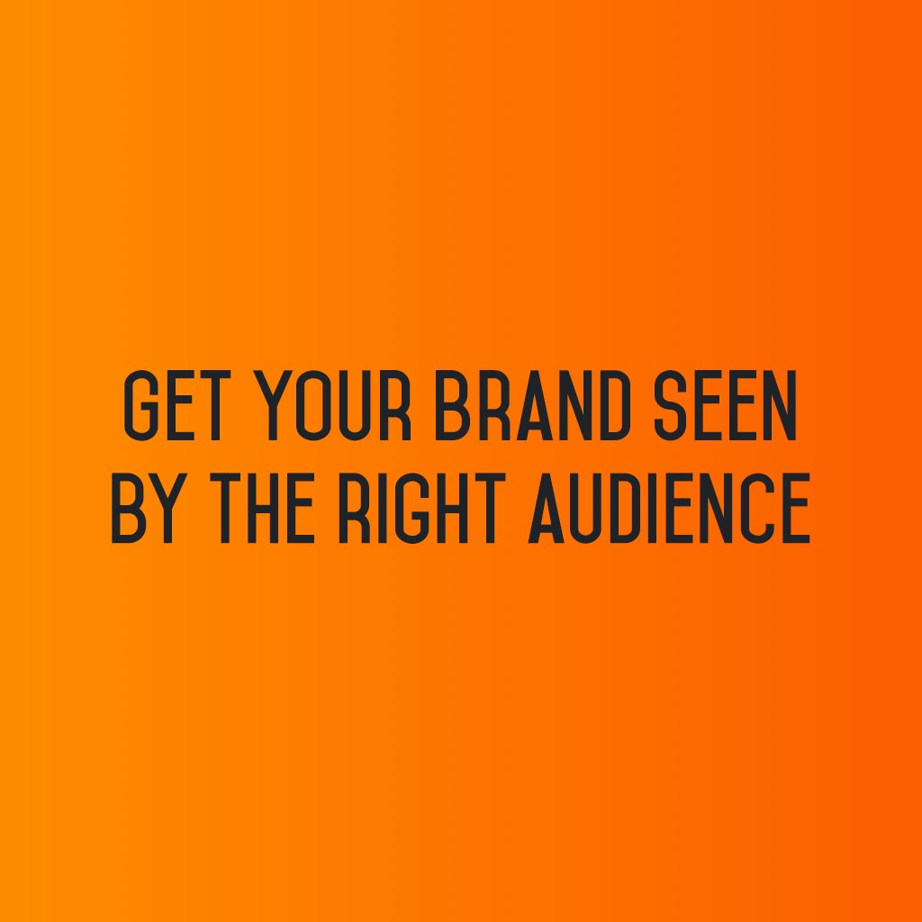 :: Get your brand seen by the right audience ::  #sm2p0 #contentstrategy #SocialMediaStrategy #DigitalStrategy #SocialMediaTools https://t.co/cgevH2rKXo