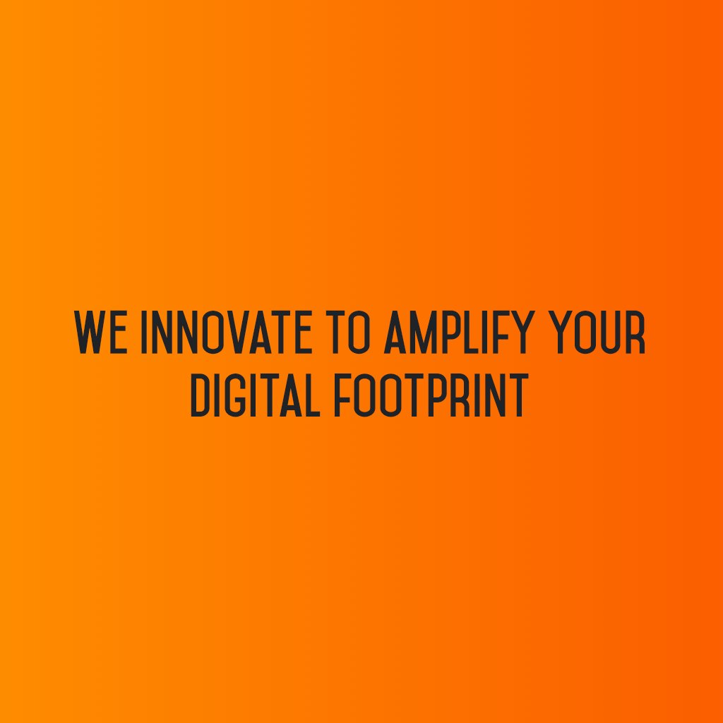 :: We Innovate to amplify your digital footprint ::  #sm2p0 #SocialMediaStrategy #DigitalStrategy #SocialMediaTools #FutureOfSocialMedia https://t.co/0fsJbsIkIn
