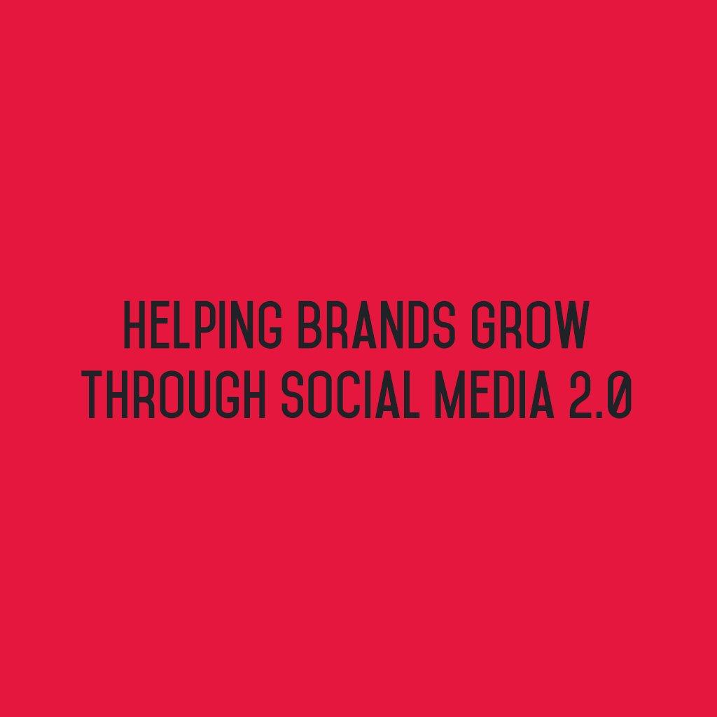 :: Helping Brands Grow through Social Media 2.0 ::  #sm2p0 #contentstrategy #SocialMediaStrategy #DigitalStrategy #SocialMediaTools https://t.co/N7aeGjhF9A