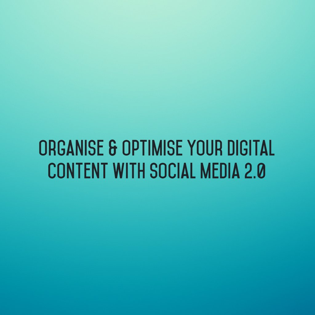 :: Organise & optimise your digital content with @SM2p0 ::  #sm2p0 #DigitalStrategy #SocialMediaTools #SocialMediaTips #FutureOfSocialMedia https://t.co/RQtnsSKkmt