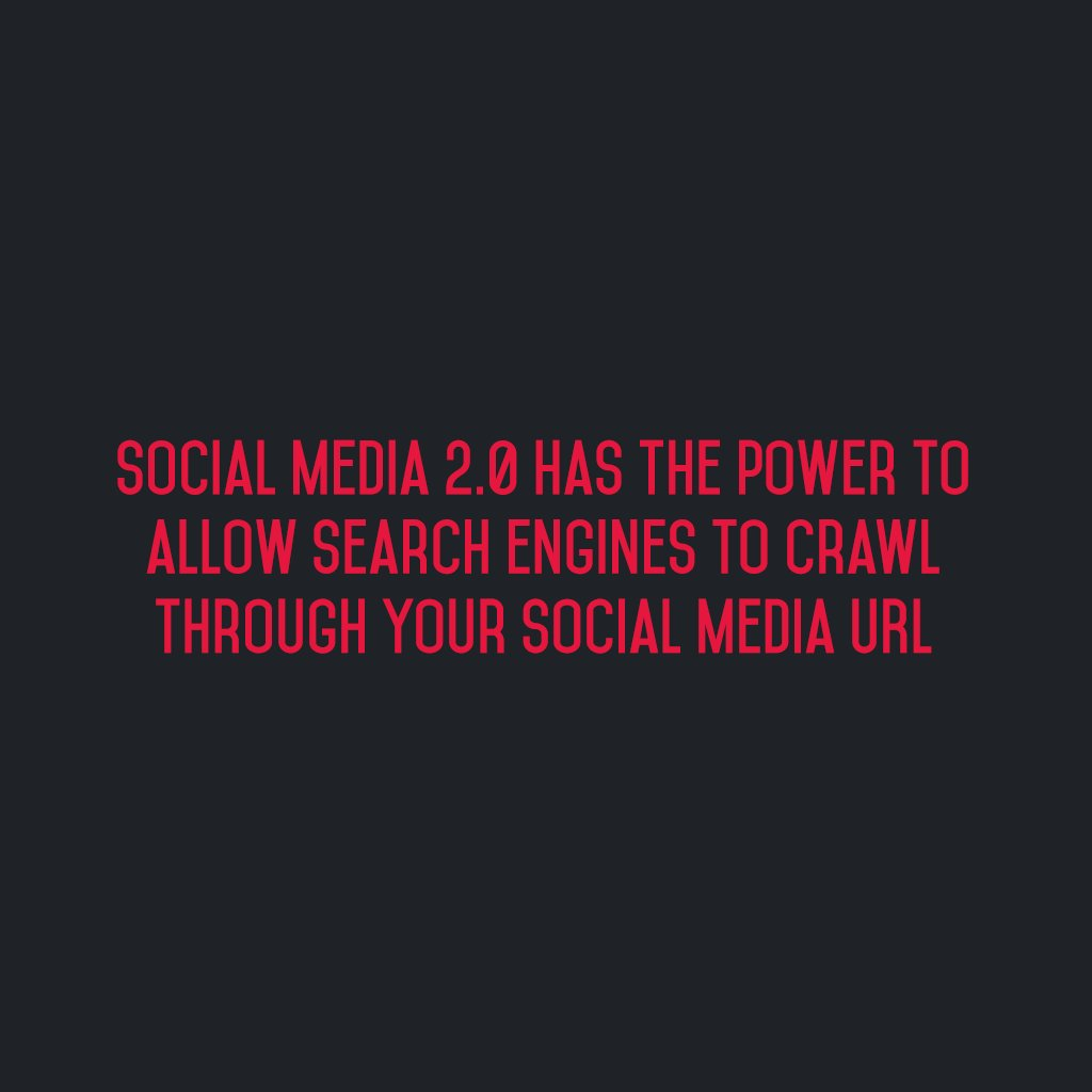 :: @SM2p0 has the power to allow search engines to crawl through your Social Media URL :: #sm2p0 #contentstrategy #SocialMediaStrategy https://t.co/K3vJxzfMrW