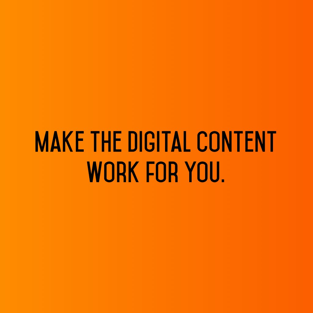 :: Make the digital content work for you :: #sm2p0 #contentstrategy #SocialMediaStrategy #DigitalStrategy #FutureOfSocialMedia https://t.co/XRomg4ufGv
