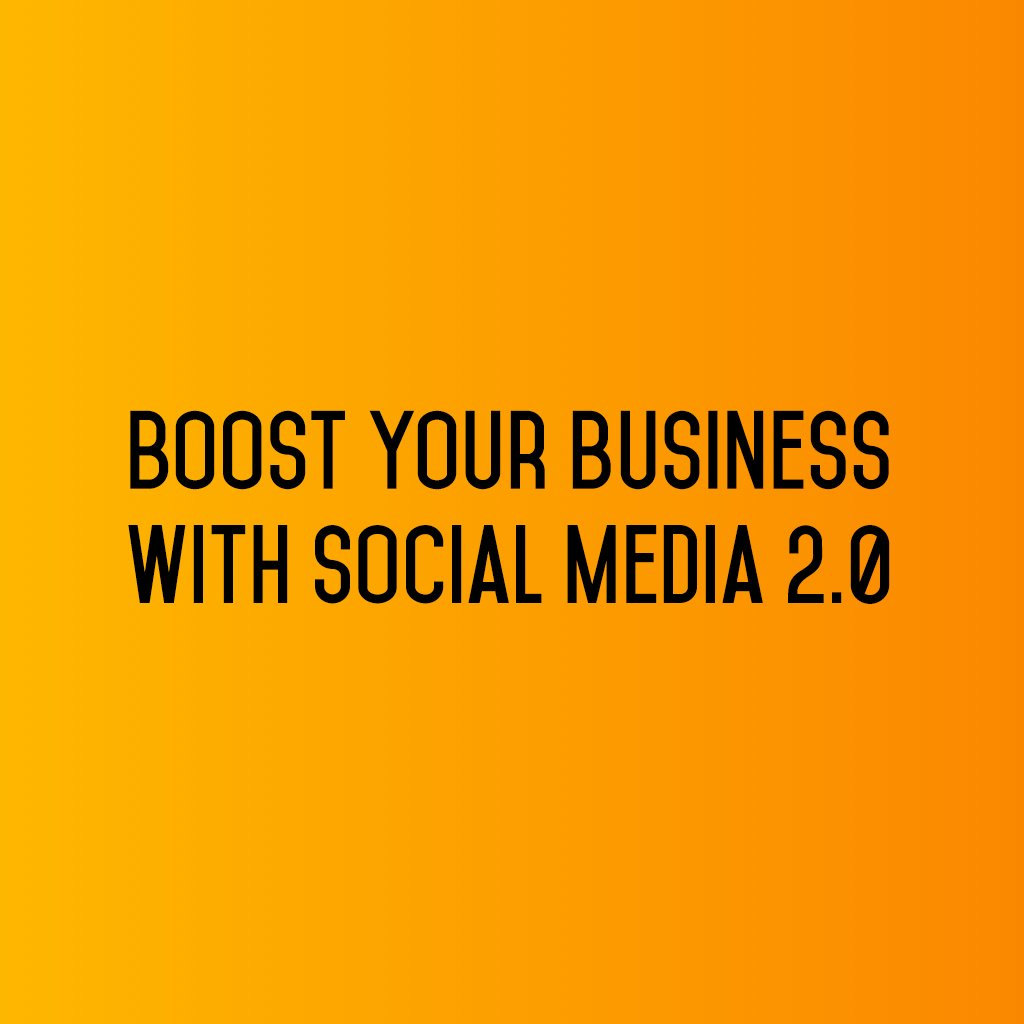 :: Boost your business with Social Media 2.0 ::  #sm2p0 #contentstrategy #SocialMediaStrategy #DigitalStrategy #FutureOfSocialMedia https://t.co/TxDnGlGjoW