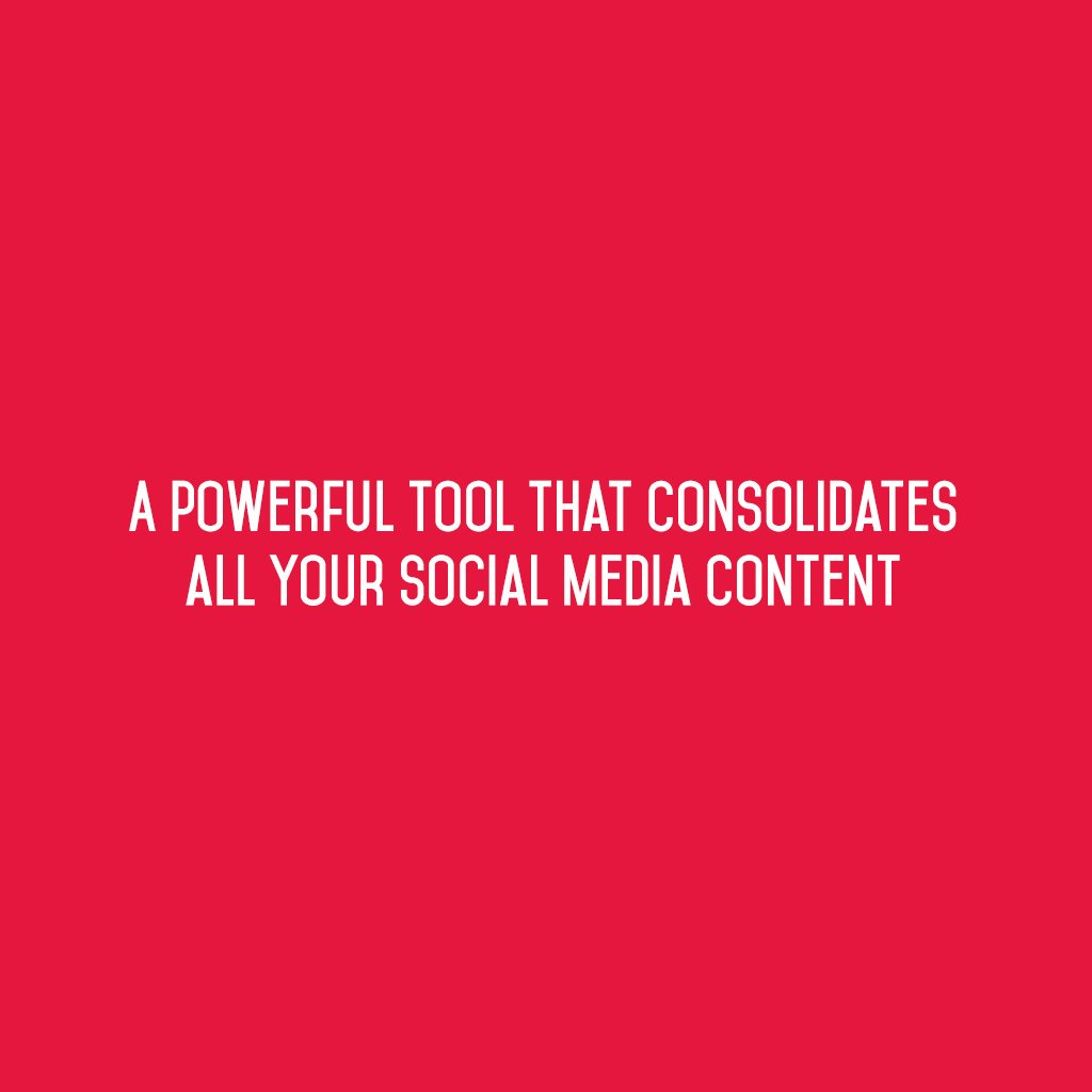 :: A powerful tool that consolidates all your #SocialMediaContent ::  #sm2p0 #contentstrategy #SocialMediaStrategy #DigitalStrategy https://t.co/SF4M3FASAk