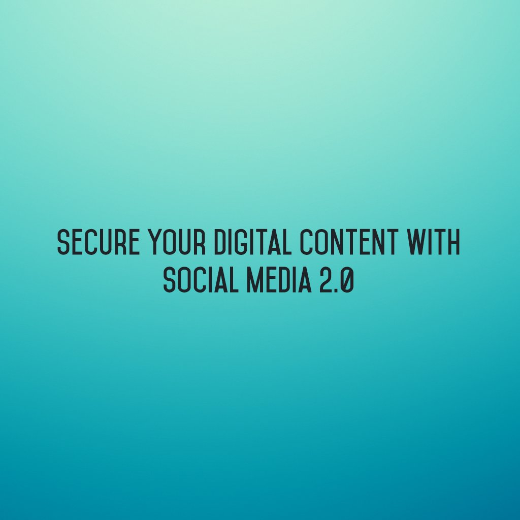 Secure your #digitalcontent with @SM2p0 ! #sm2p0 #contentstrategy #SocialMediaStrategy #DigitalStrategy #SocialMediaTools https://t.co/67m3WKPee5