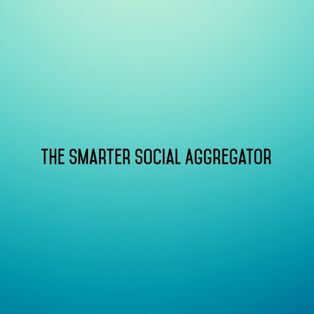 :: The Smarter Social Aggregator ::  #sm2p0 #contentstrategy #SocialMediaStrategy #DigitalStrategy #SocialMediaTools #SocialMediaTips https://t.co/NECZReN0iE