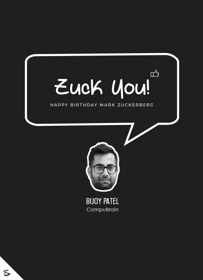 Happy Birthday Mark! #ZuckerDay #ZuckYou https://t.co/vgEUViTDTc